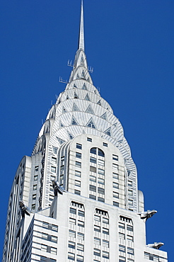 The Chrysler Building, 42nd Street, Manhattan, New York City, New York, United States of America, North America