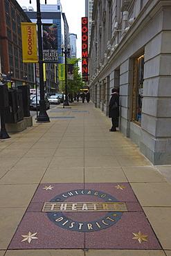 The Theatre District, Chicago, Illinois, United States of America, North America
