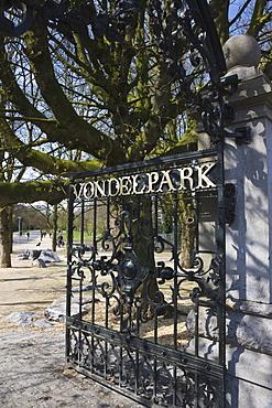 Vondelpark, Amsterdam, Netherlands, Europe