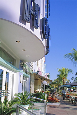 Colony Hotel, Ocean Drive, Miami Beach, Florida, USA, North America