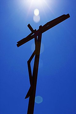 Giant Crucifix, Fatima, Portugal, Europe