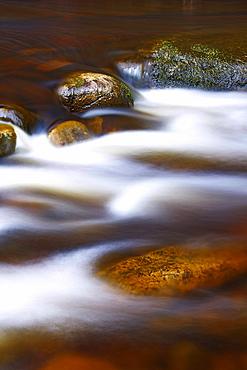 River Stones, Knaik Water, Perthshire, Scotland, United Kingdom, Europe