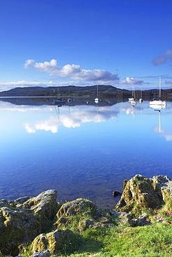 Sunrise, Ambleside, Lake Windermere, Lake District National Park, Cumbria, England, United Kingdom, Europe