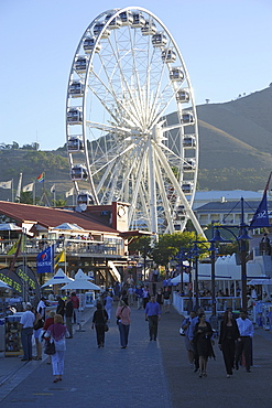 Ferris wheel, the Waterfront, Cape Town, South Africa, Africa