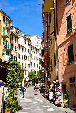 Manarola, Riomaggiore, Cinque Terre, UNESCO World Heritage Site, Liguria, Italy, Europe
