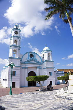 Eglesia San Christobal, Tlacotalpan, UNESCO World Heritage Site, Mexico, North America