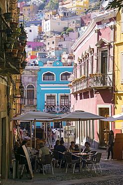 Street scene, Guanajuato, Mexico, North America