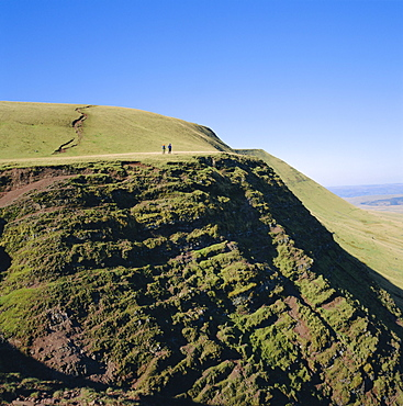 Black Mountain, Brecon Beacons National Park, Powys, South Wales, UK