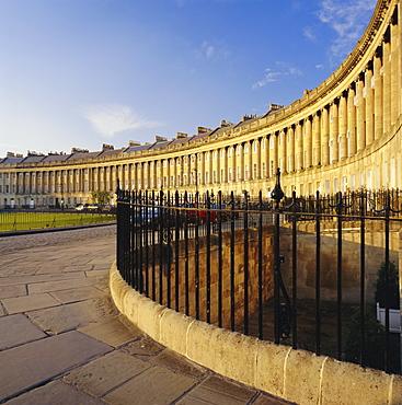 The Royal Crescent, Bath, Avon & Somerset, England