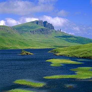 Loch Fada and The Storr, Isle of Skye, Highlands Region, Scotland, UK, Europe