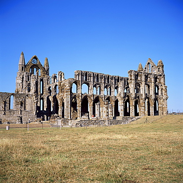 Whitby Abbey, North Yorkshire, England, United Kingdom, Europe
