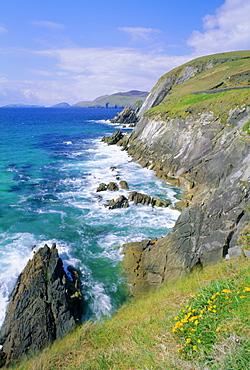 Slea Head, Dingle Peninsula, County Kerry, Munster, Republic of Ireland (Eire), Europe