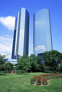 Deutsche Bank, Frankfurt, Germany, Europe