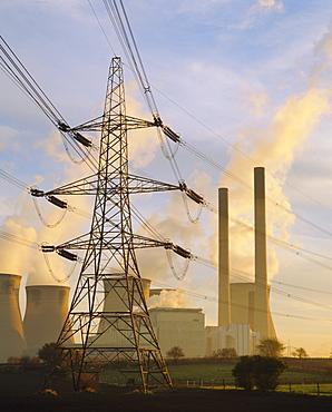 Ferrybridge Power Station, North Yorkshire, UK  - 485-8450