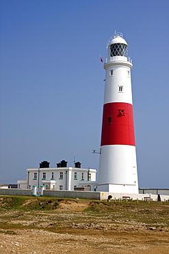 Portland Bill Lighthouse, Isle of Portland, Weymouth, Dorset, England, United Kingdom, Europe