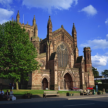 Hereford Cathedral, Hereford, Herefordshire, England, United Kingdom, Europe