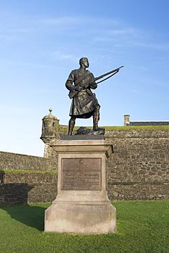 South African War Memorial of Argyll and Sutherland Highlanders, Stirling Castle, Scotland, United Kingdom, Europe