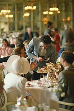 Tea at the Ritz, London, England, United Kingdom, Europe