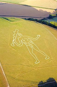 Cerne Abbas Giant, Dorset, England, UK