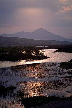 Caillich and the Cuillin Hills in the background, Isle of Skye, Highland region, Scotland, United Kingdom, Europe