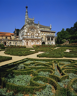 Bussaco Palace, Beira Litoral region, Costa de Prata, Portugal
