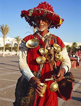 Water seller, Agadir, Morocco, North Africa, Africa