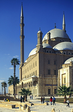 Mosque of Mohammed Ali, Citadel, Cairo, Egypt, North Africa, Africa