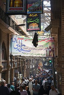 Main alley, Tehran Bazar, Iran, Western Asia