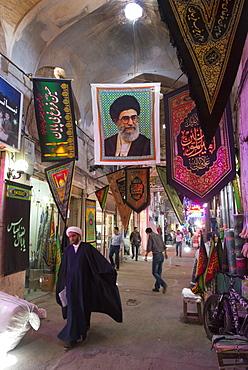 Bazar alley, Esfahan, Iran, Western Asia