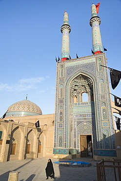 Jameh mosque, Old City, Yazd, Iran, Western Asia