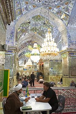 Aramgah e Shah e Cheragh shrine, Shiraz, Iran, Western Asia