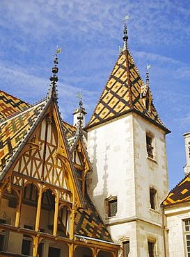 Hotel, Beaune, Burgundy, France, Europe