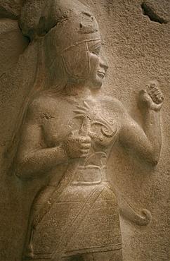 Hittite sculpture, Museum of Old Anatolian Civilizations, Ankara, Anatolia, Turkey, Asia Minor, Eurasia