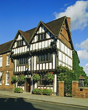 New Place, Stratford-upon-Avon, Warwickshire, England, UK, Europe