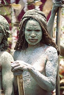 Bema woman at market, Goroka, Eastern Highlands, Papua New Guinea, Pacific Islands, Pacific