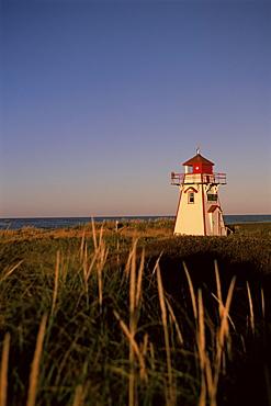 Lighthouse at Cavendish Beach, Prince Edward Island, Canada, North America