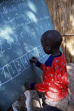 Village school, Mozambique, Africa