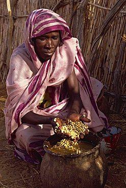 Wild berries eaten during famine in 1997, Darfur, Africa