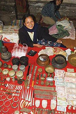 Night Market, Luang Prabang, Laos, Indochina, Southeast Asia, Asia