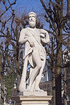 Statues at the Mirabell Gardens, Salzburg, Austria, Europe