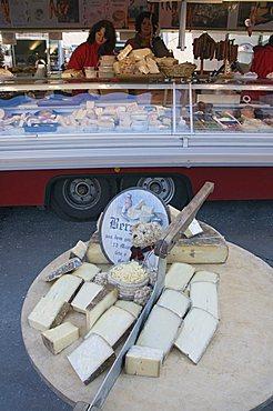 Cheese shop, Salzburg, Austria, Europe