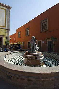 Santiago de Queretaro (Queretaro), a UNESCO World Heritage Site, Queretaro State, Mexico, North America