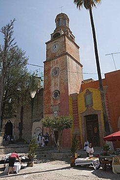 Santuario de Atotonilco, near San Miguel de Allende (San Miguel), Guanajuato State, Mexico, North America