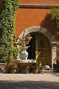 Casa Liza, a bed and breakfast boutique inn, San Miguel de Allende (San Miguel), Guanajuato State, Mexico, North America