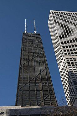 The Hancock Building, Chicago, Illinois, United States of America, North America