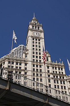 The Wrigley Building, Chicago, Illinois, United States of America, North America