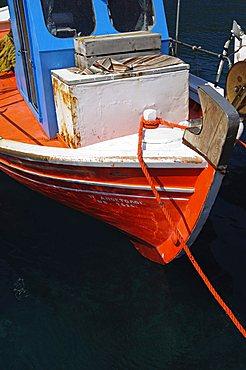 Small fishing harbour of Agnontas, Skopelos, Sporades, Greek Islands, Greece, Europe