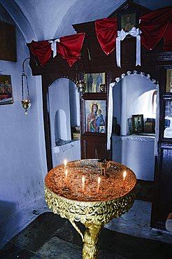 Monastery Agios Taxiarchon, Skopelos, Sporades Islands, Greek Islands, Greece, Europe