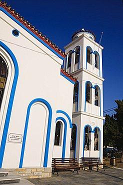 Church, Loutraki, Skopelos, Sporades Islands, Greek Islands, Greece, Europe