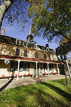 Clinton Academy founded 1784, Main Street, East Hampton, The Hamptons, Long Island, New York State, United States of America, North America